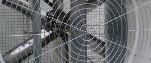 Ventilateurs avec cone volet papillon