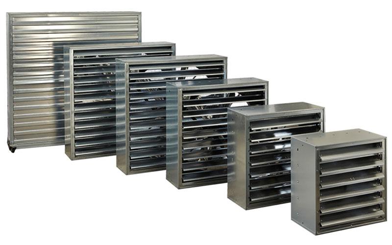 Ventilateurs extracteurs pour aviculture